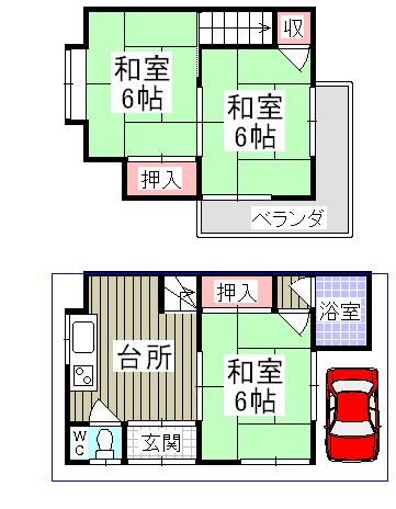 4-18山科区西野中古テラス2