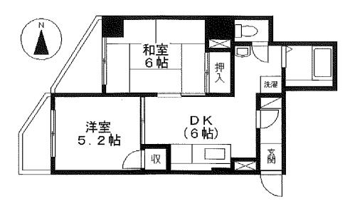 10-25椥辻中古マンション-2