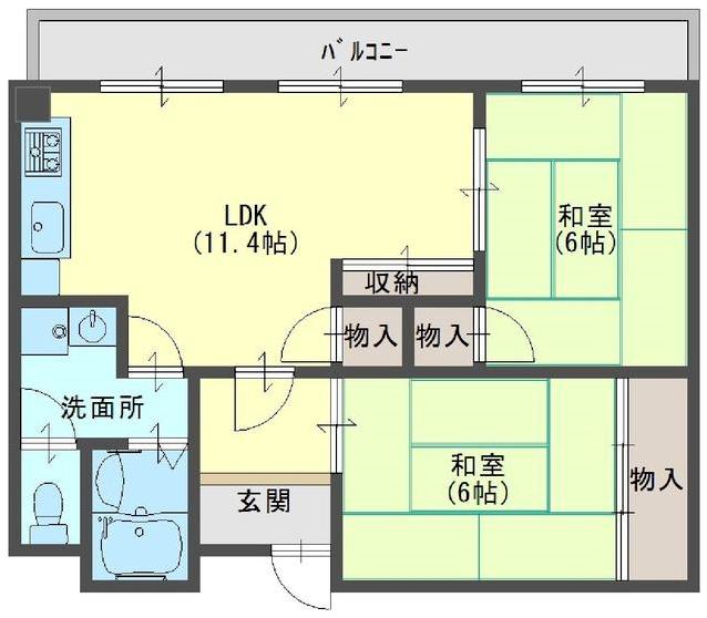 11-23清水焼団地中古マンション-1