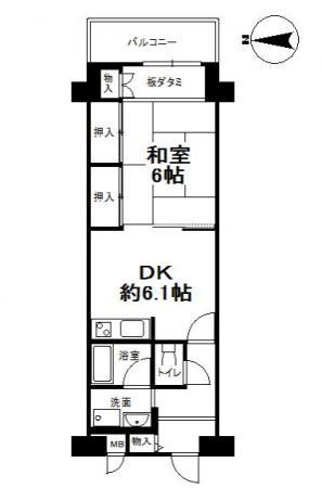 2-28ラール山科中古マンション-6