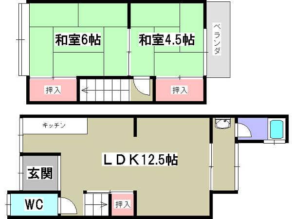 3-30椥辻中古住宅-1