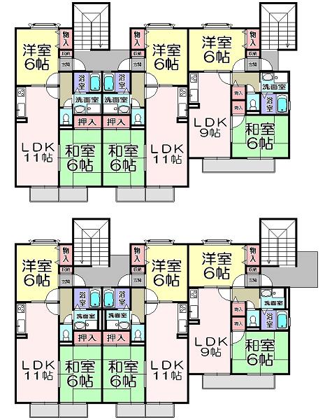 5-8三宅八幡アパート-1