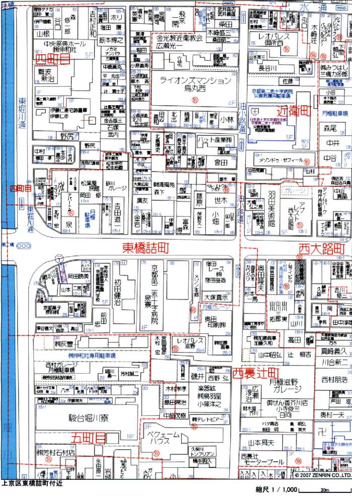 8−26上京区収益.位置図a