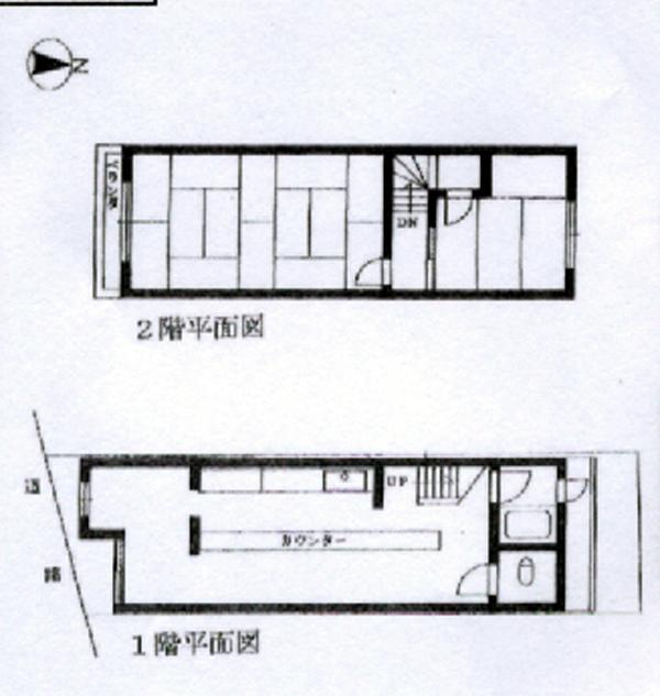8-4西大路駅店舗‐間取り
