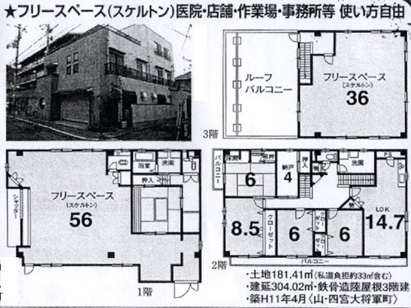 5-9四ノ宮物件-概要a