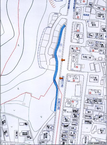 2-25岩倉売り地-位置図a