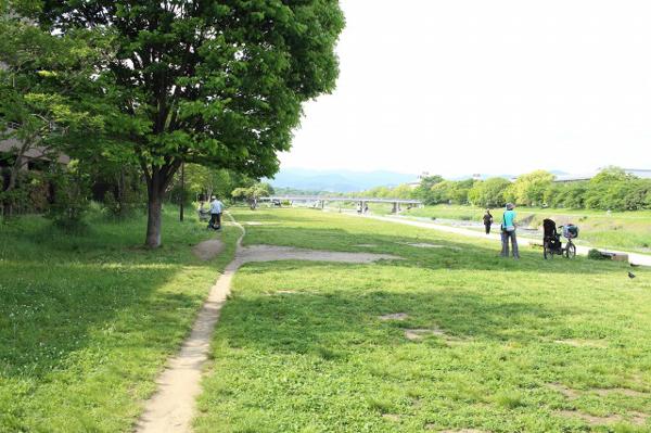 6-26加茂川河川敷公園-3