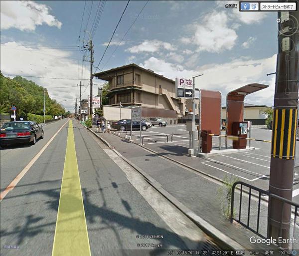 金閣寺周辺売地-4