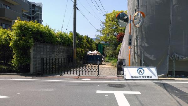 長岡京売り地-2a