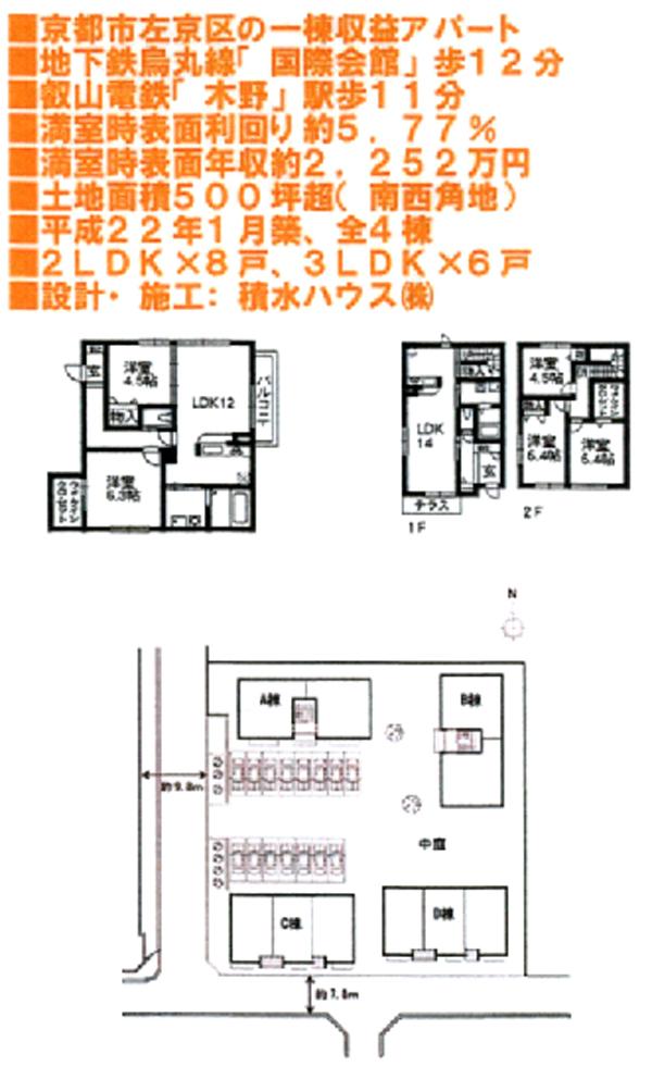 岩倉アパート-概要a
