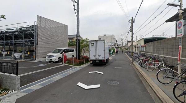 東向日駅ガレージ-1