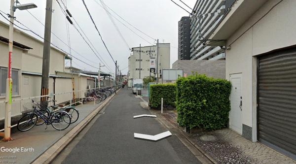東向日駅ガレージ-2