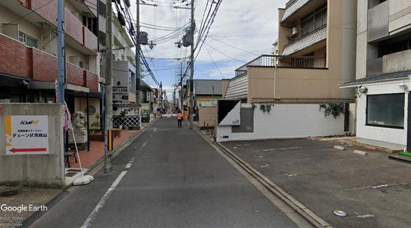 伏見桃山土地-1