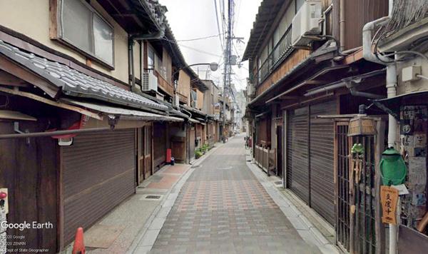高瀬川沿い店舗-4