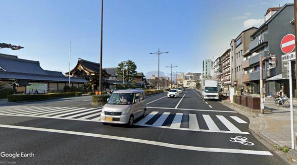 西本願寺周辺店舗付き住宅-1